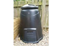 Unused Black Compost Bin