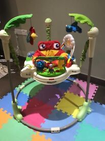 Fisher price jumperoo, needs a new battery but otherwise excellent condition