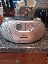 CD, radio and cassette player for sale