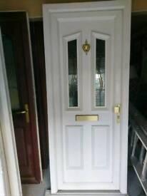 Upvc Front Door With Keys very good Condition