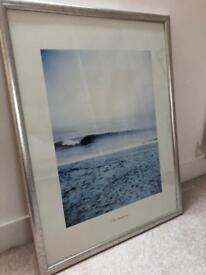 "Framed Cary Hazelgrove ""Atlantic Wave"" Print"