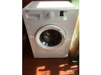 washing machine latest beko 8kg 1400 spin,as new and little used,new kitchen forces sale.