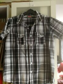 Boys Lee Cooper Checked Shirt age 10 to 12 years
