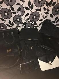 9 Women's hand bags