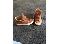 Next women's tan high tops / boots
