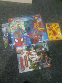 Spiderman and avengers brand new