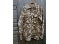 British Army Issue Desert Pattern COMBAT SHIRT - Size 200/104 -dg Extra-Long Large