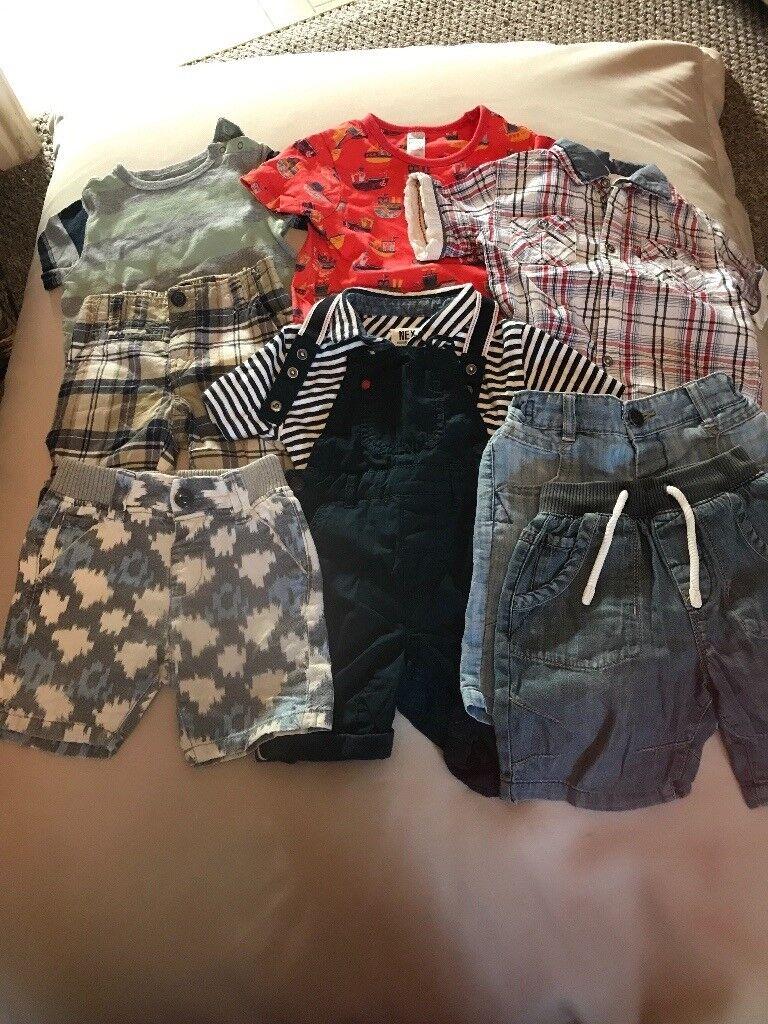 Boys 12-18 months summer clothes bundle