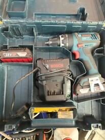 Bosch lithium drill