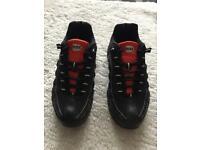 Black & red Nike airmax 95s