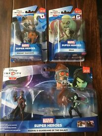 Disney Infinity Guardians of the Galaxy play set + 2 extra figures