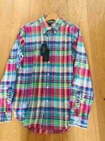2 x Polo Ralph Lauren men's shirts - M - NEW with tags