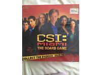 CSI Miami board game
