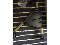 Land Rover Defender rear spare wheel carrier swing arm