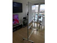 Office Whiteboard on wheels 1200mm x 900mm