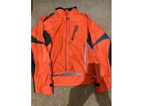 Cycle jacket & helmet