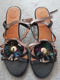 Like new Anthropologie heeled sandals size EU39 UK6
