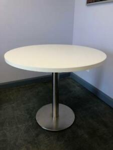 "36"" Round Table - White - $175"