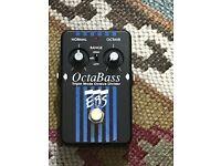 EBS OctaBass Tripple Mode Bass Octave Divider FX Pedal