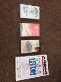 Self hypnosis/meditation/business cassette tapes