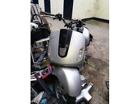 125 04 plate vespa gt frame with plate and green slip