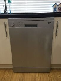 Beko DFC05R10S_SI standard dishwasher in silver for sale.