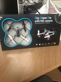 Sky drone pro with hd camera