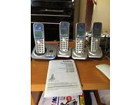 PANASONIC CORDLESS TELEPHONES FOR SALE