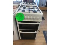 BEKO 50CM ALL GAS COOKER IN WHIRE