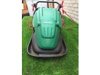 Qualcast hover mower and strimmer