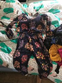 Bundle of women's clothes Zara topshop ASOS all saints
