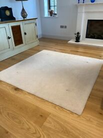 170 x170cm square wool rug