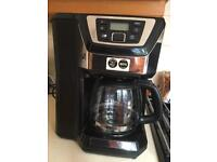 Coffee machine -Russell Hobbs grind and brew