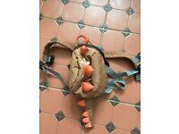 Little life Dinosaur bag and reins