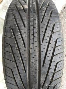 TWO 99% NEW MICHELIN P225/55R17 95T
