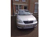 Toyota Corola 1.4 VVTI, MANUAL 2004 CHEAP AND IN EXCELLENT CONDITION, IDEAL FOR FAMILY