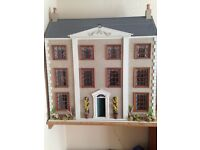 Collectors 1900's style fully furnished, miniature dolls house.