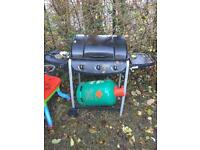 Barbecue Grill with gas cylinder