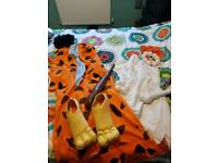 Fred and Wilma Flintstone fancy dress