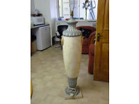 Large Grecian Floor Lamp