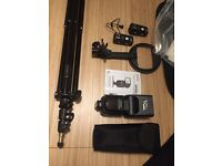 Bargain Mobile Studio Kit: off camera flash, triggers, softbox and stand - £100