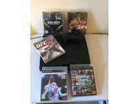 PlayStation 3 with 5 games