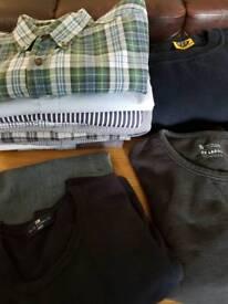 Mens large shirts and tops