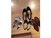 4 pairs of women's shoes - all size 7