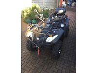Quadzilla RS6 EFI Quad Bike 2010 For Sale. Rarely used with only 1678 miles on the clock
