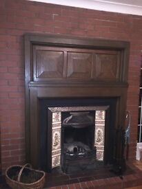 Antique style fireplace for sale.