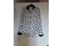 Ladies size 10 blouse