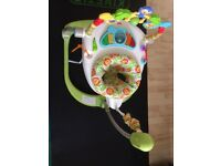 Fisher-Price Rainforest Spacesaver Jumperoo ( almost new)