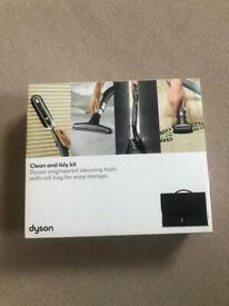 Dyson Clean and Tidy Tool Kit with 4 Tools and bag. New. Collect Chichester