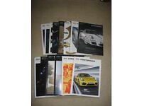 14 Christophorus Porsche Magazines.